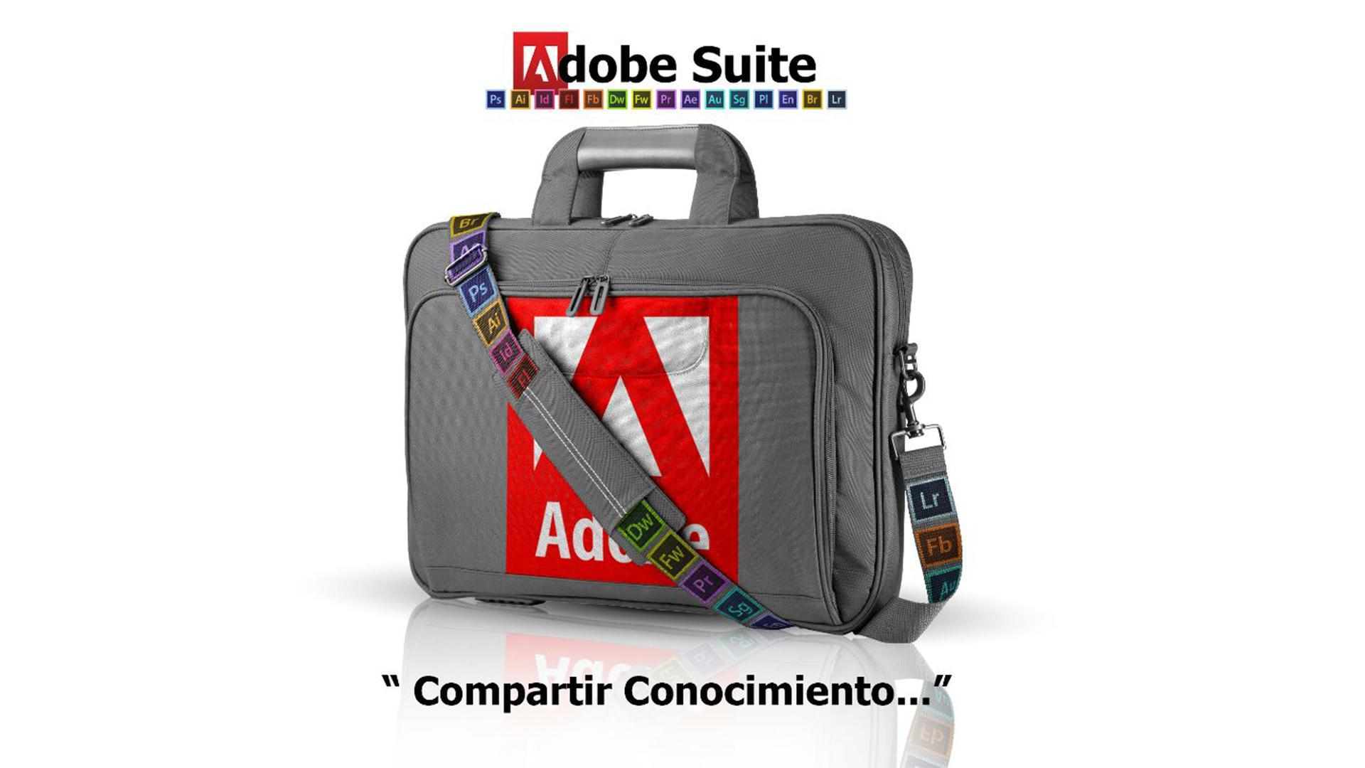 Adobe Suite Header