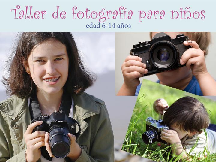 taller fotografia niños